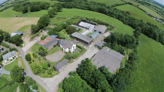 Upcott Barton Farmhouse, Broadwoodwidger, Lifton, Devon