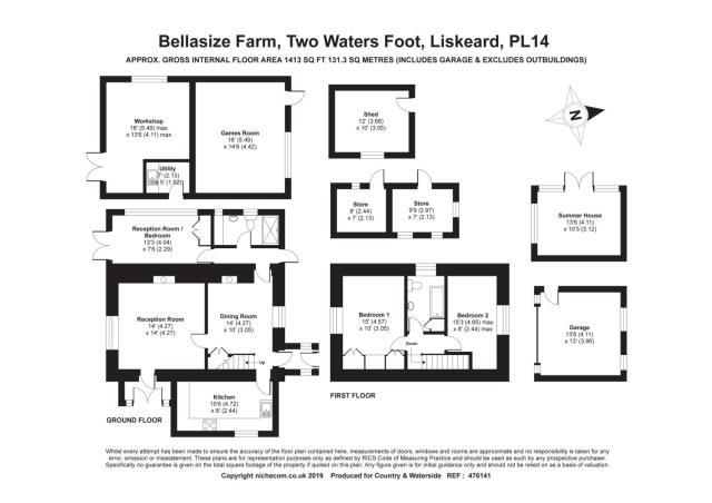 Bellasize Farm, Two Waters Foot, Liskeard, Cornwall